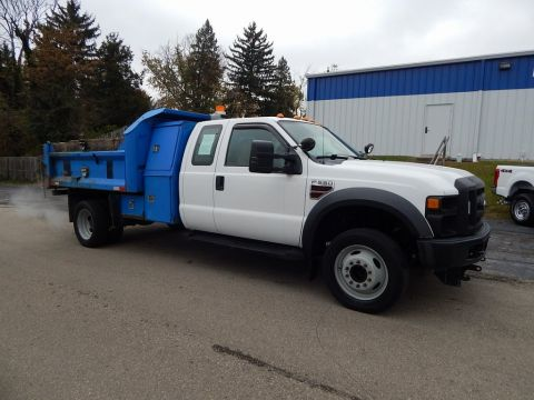 Pre-Owned 2008 Ford F-550SD XL