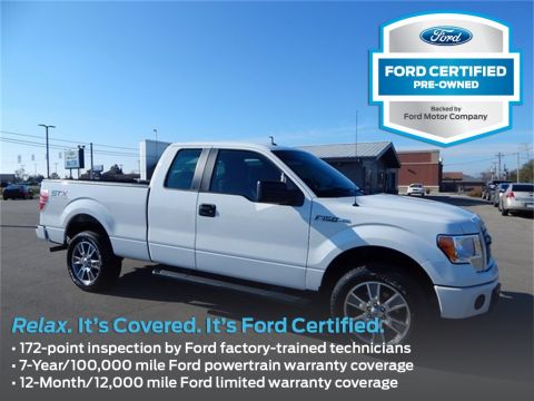 Certified Used Ford F-150 STX