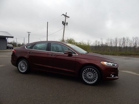 Pre-Owned 2015 Ford Fusion Titanium FWD 4D Sedan