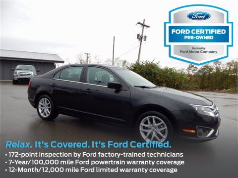 Certified Used Ford Fusion SEL