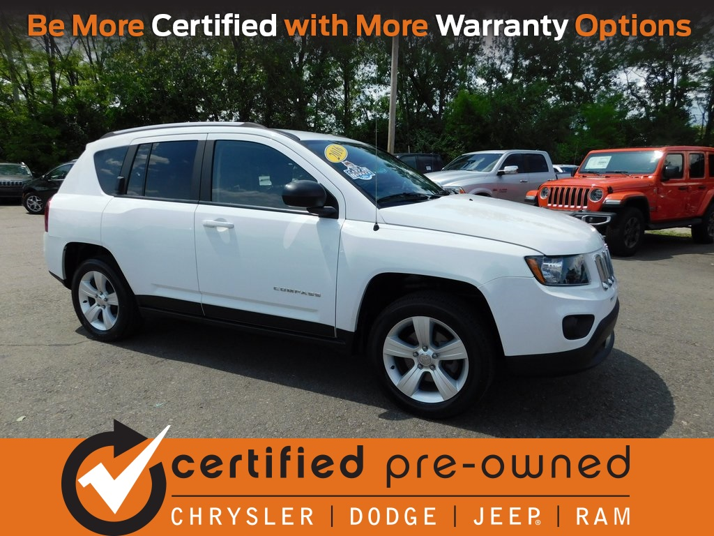 Certified Pre Owned Jeep >> Certified Pre Owned 2016 Jeep Compass Sport 4d Sport Utility In