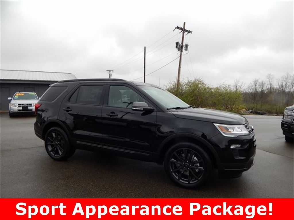2018 Ford Explorer Spec >> New 2018 Ford Explorer Xlt 4d Sport Utility In Richmond F38928