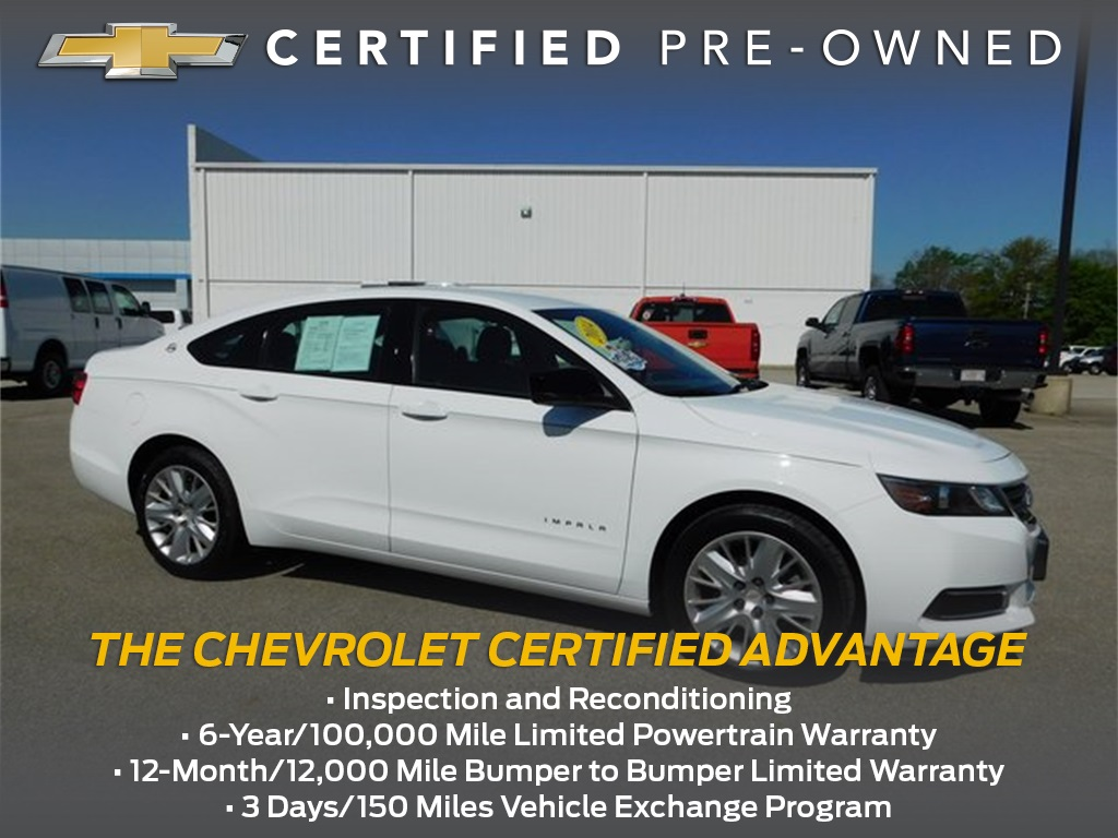 Certified Pre-Owned 2014 Chevrolet Impala LS