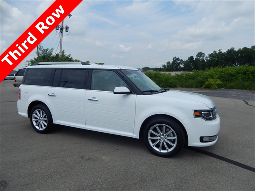 pre-owned 2017 ford flex limited 4d sport utility in richmond