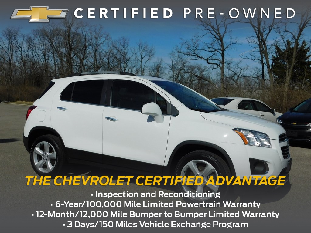 Certified Pre-Owned 2015 Chevrolet Trax LTZ