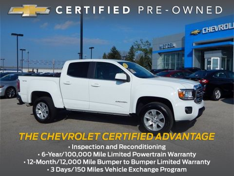 Certified Pre-Owned 2018 GMC Canyon SLE1
