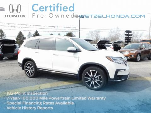 Certified Pre-Owned 2019 Honda Pilot Touring